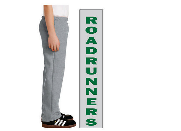 18400B Youth Open-Bottom Sweatpants