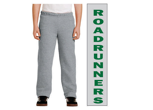 18400 Adult Open-Bottom Sweatpants