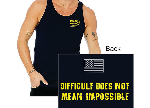 Men's 4.3 Ounce Cotton Tank