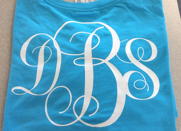 Monogrammed Game Jersey
