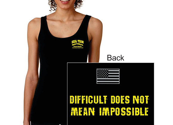 Ladies 4.3 Ounce Spandex Jersey Tank