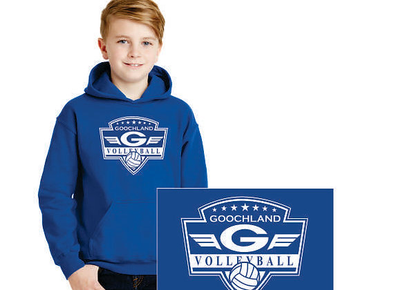 18500B Youth Hooded Pullover
