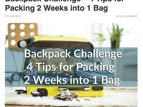 Outdoors With No Limits: Backpack Challenge with FLPSDE