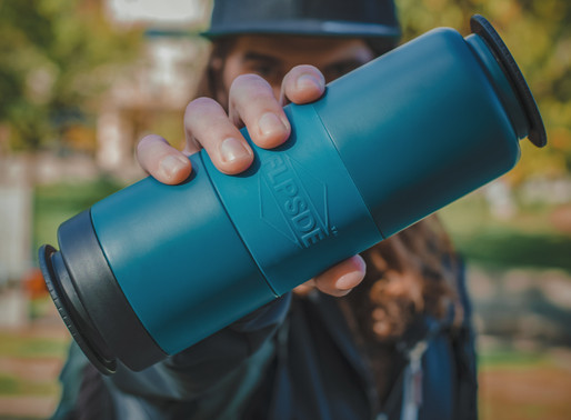 Order Now! FLPSDE Dual Chamber Water Bottle