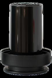 black plastic food storage container for FLPSDE water bottles