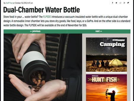 FLPSDE Bottles Featured on GearJunkie