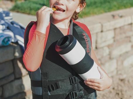 Kids Love This Snack Water Bottle