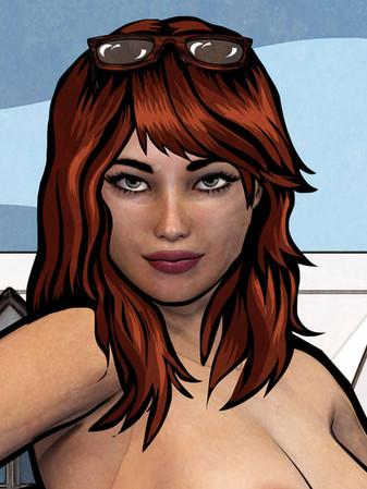 Jodie (detail)