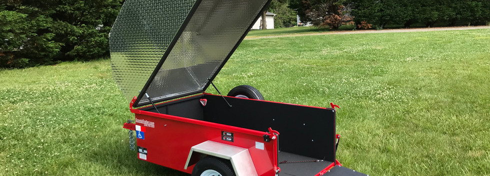 XL ScootaTrailer w/ top and rubber