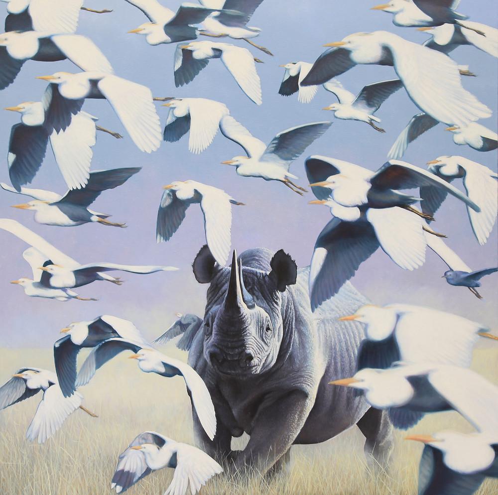 stefano zagaglia - Don't fly away - oil on canvas - 100x100.jpg