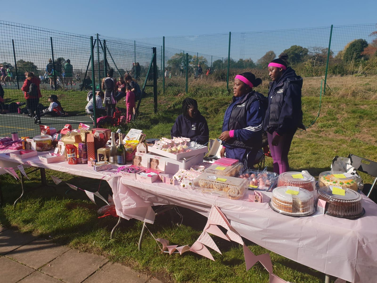 Troy Netball Clubs Brest Cancer Fundraiser
