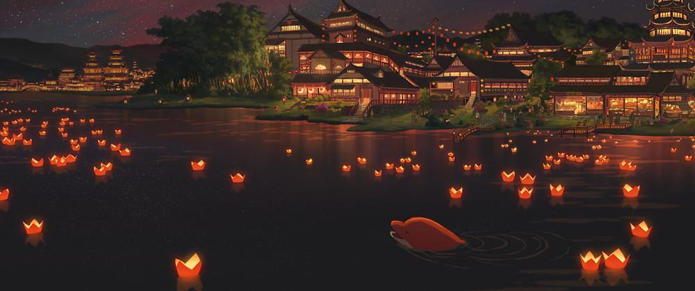 Kauniisti animoitu Big Fish & Begonia saa Luontoelokuvafestivaalilla Suomen ensi-iltansa.