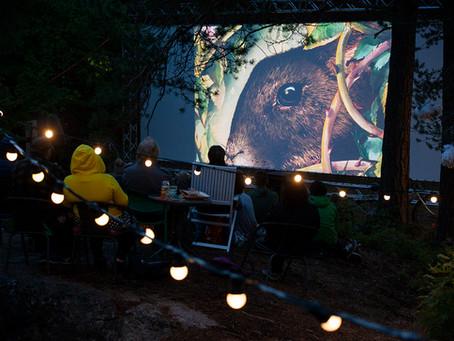 Luontoelokuvafestivaali tarjoili monipuolisen ohjelmiston kulttuurinnälkäisille festivaalivieraille