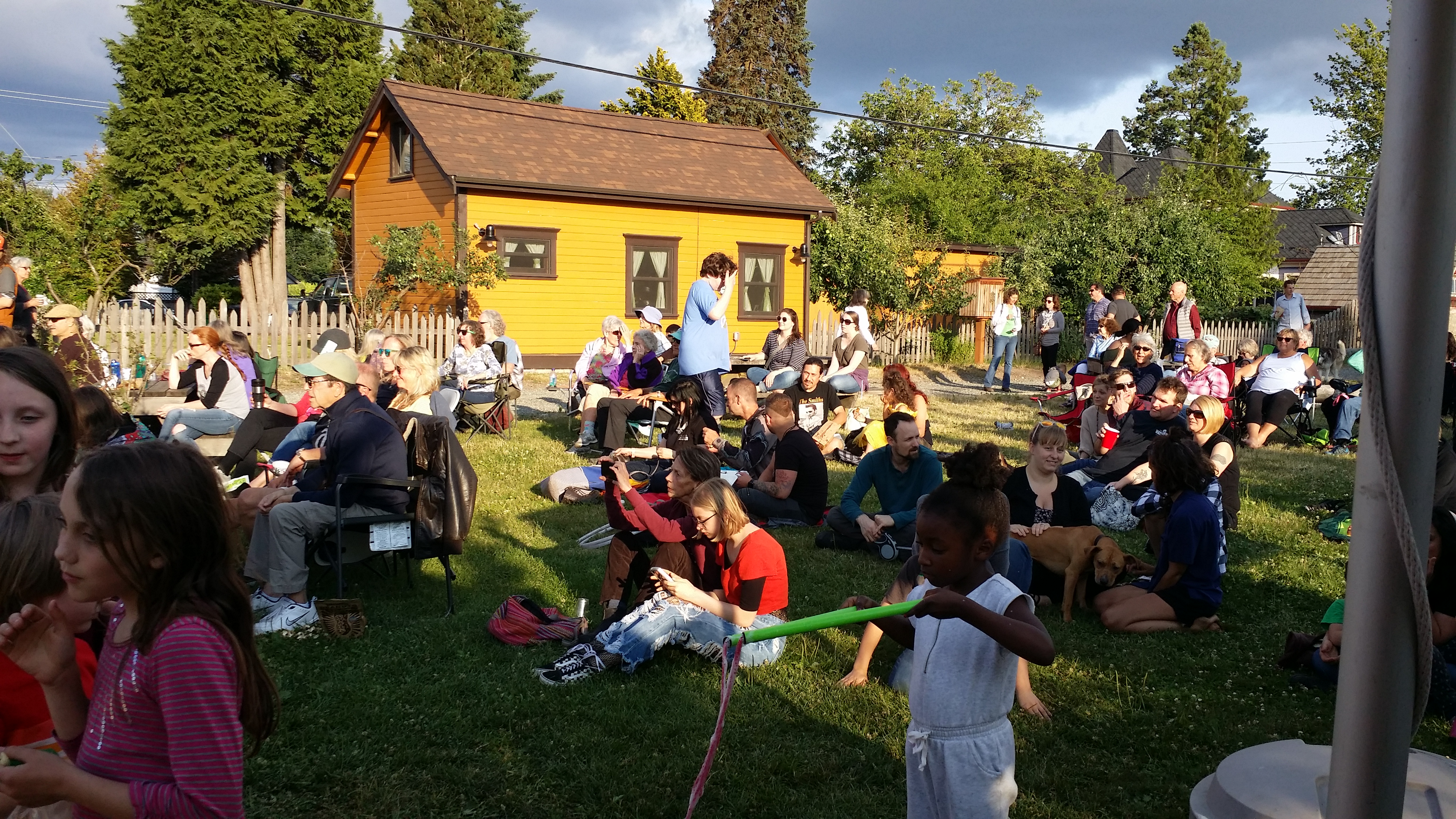 Summer gathering and music
