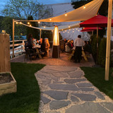 OUTDOOR PAVER PATIO @ thyme