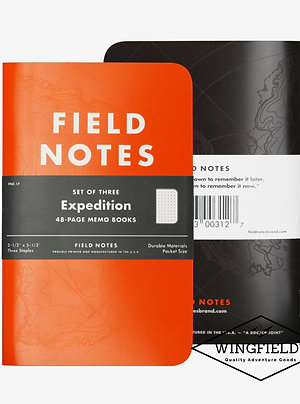 Field Notes - Expedition - 3-Pack