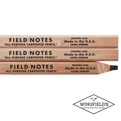 Field Notes - Carpenters Pencil 3-pack