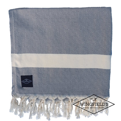 Wingfield's - Travel Towel - Grey