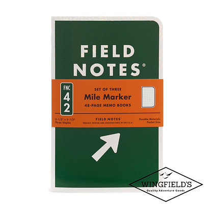Field Notes - Mile Marker - Limited Edition Dot-Graph 3-Pack