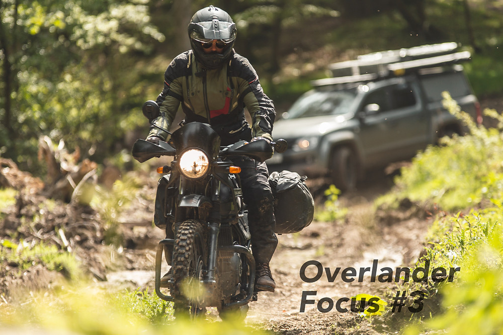 Connor Ross on his Royal Enfield Himalayan