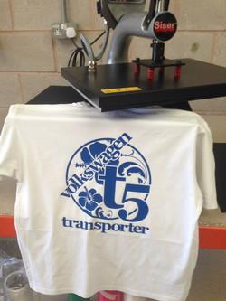 Printed custom made T-shirt