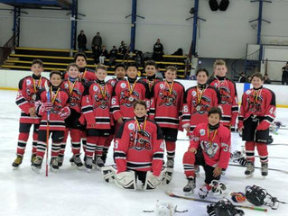 Pee Wees claim Silver at Heaton Trophy