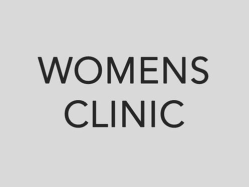 Womens Pre-Season Clinic