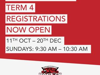 Hockey School Term 4: Rego Open