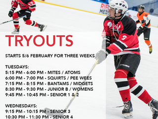 2019 Winter Season Tryouts
