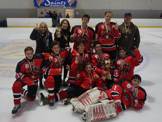 Bantams claim Gold at the Lynch Cup!