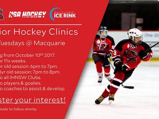 Junior Hockey Clinics @ Macquarie
