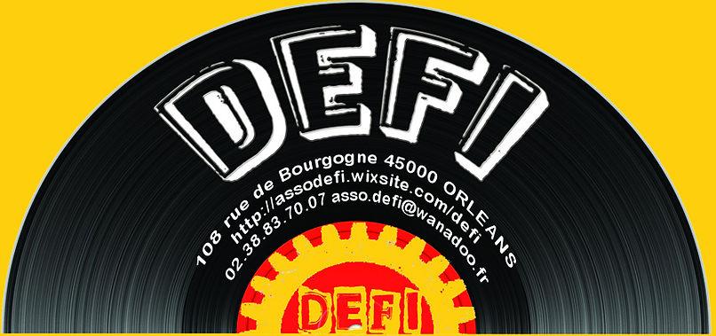logo carte de visite association defi orléans