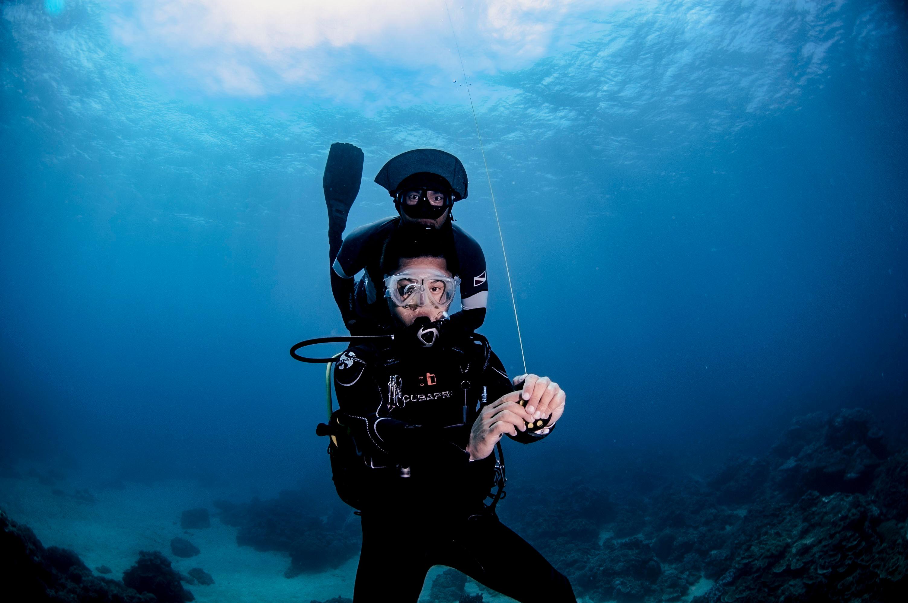 水肺自潛整合課程