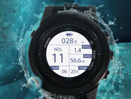 『裝備』史上! 最便宜多功能潛水電腦錶-CREST CR-4