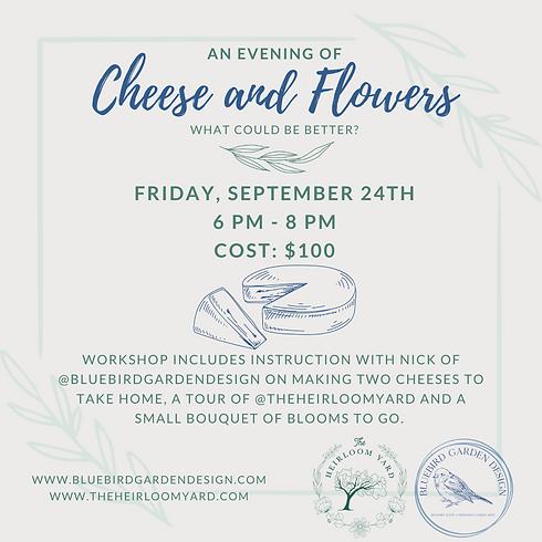 Cheesemaking Workshop with Bluebird Garden Design