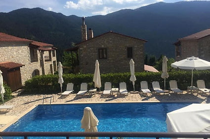 greece, hotel, pool