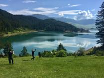 lake view, jumping' greece