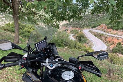 אופנוע במוו, כביש מפותל, פולופונס