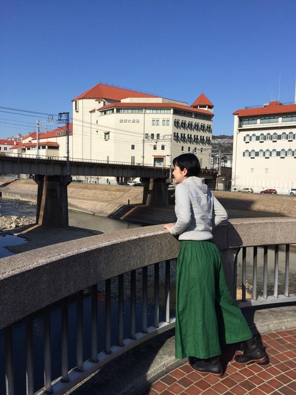 川辺の散歩