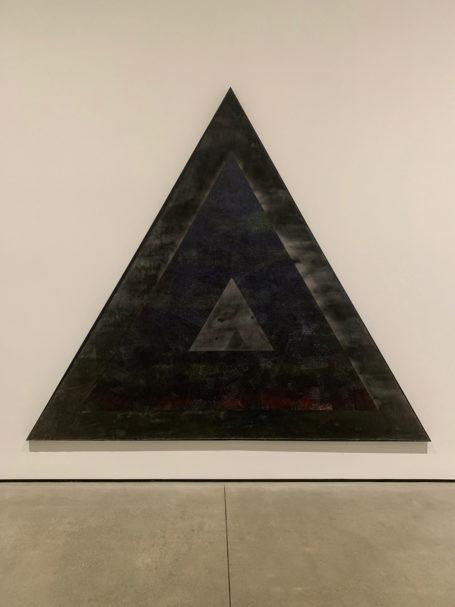 Black artist Jack Whitten's artwork to commemorate malcom x