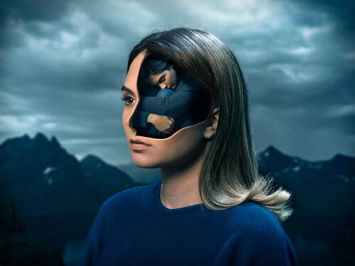 Surrealistic digital artwork