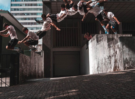 PARKOUR: THE ART OF NEVER GIVING UP