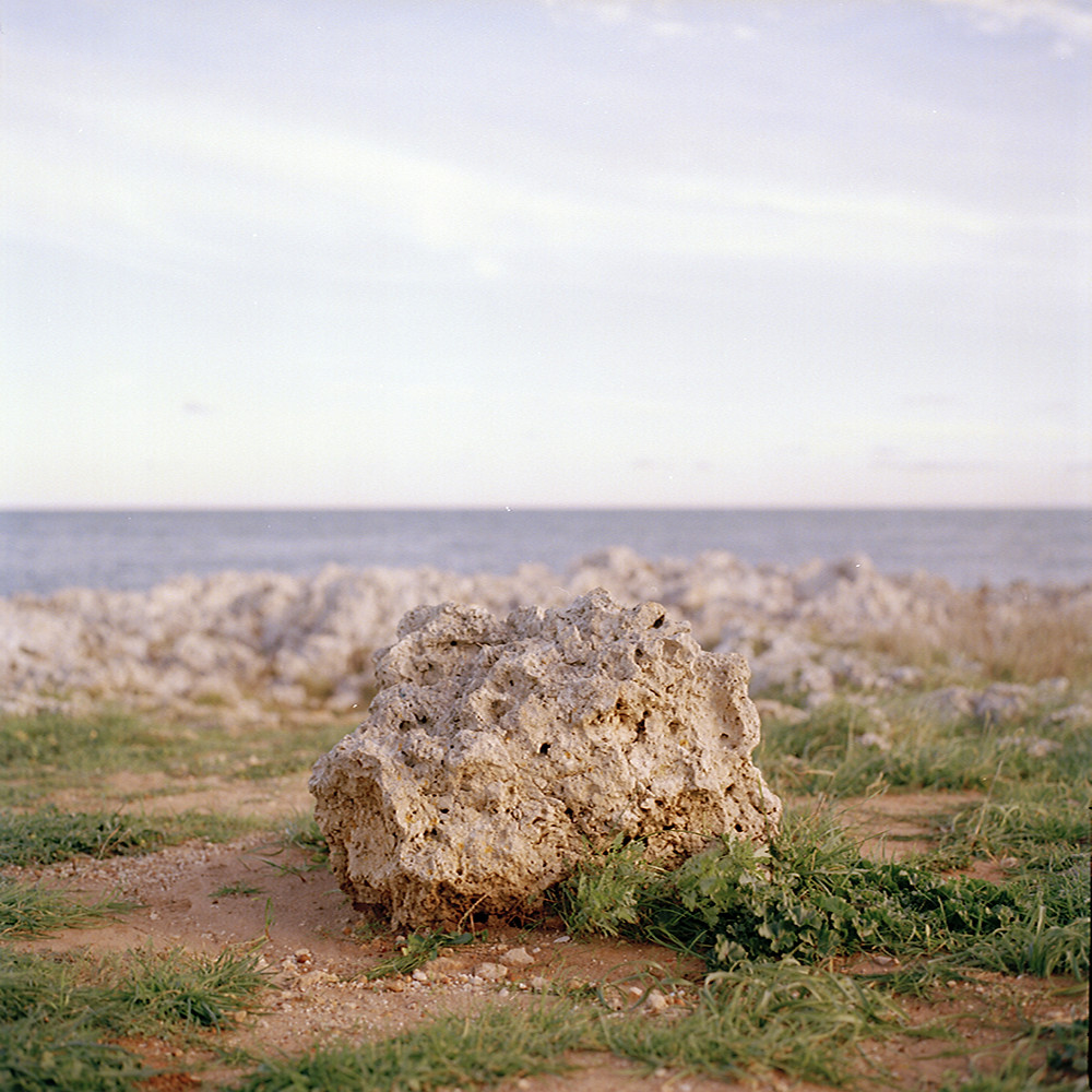 Italian photographer Cristina de Paola's shoot of a rock near the sea