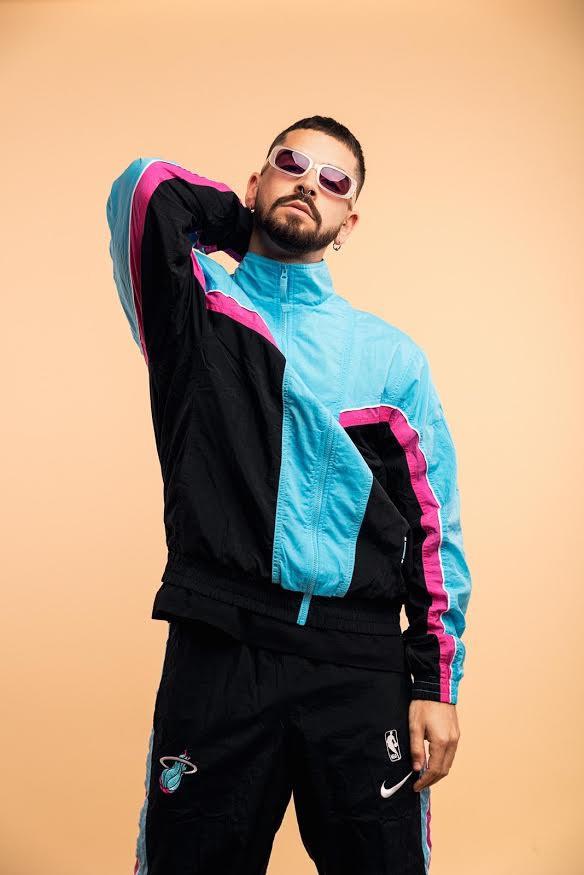 Dancer Mattia Tuzzolino in nike sportswear
