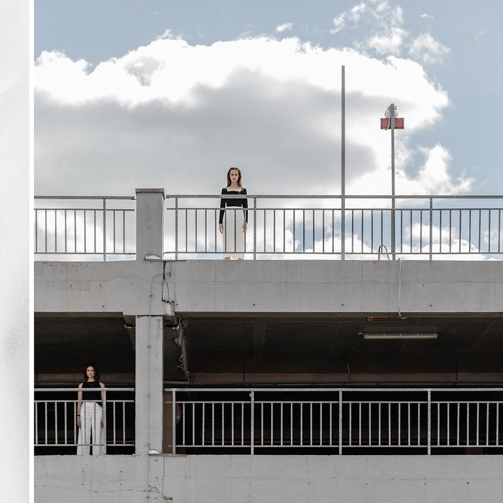 High fashion brand Leorgofman spring summer 202 campaign shoot