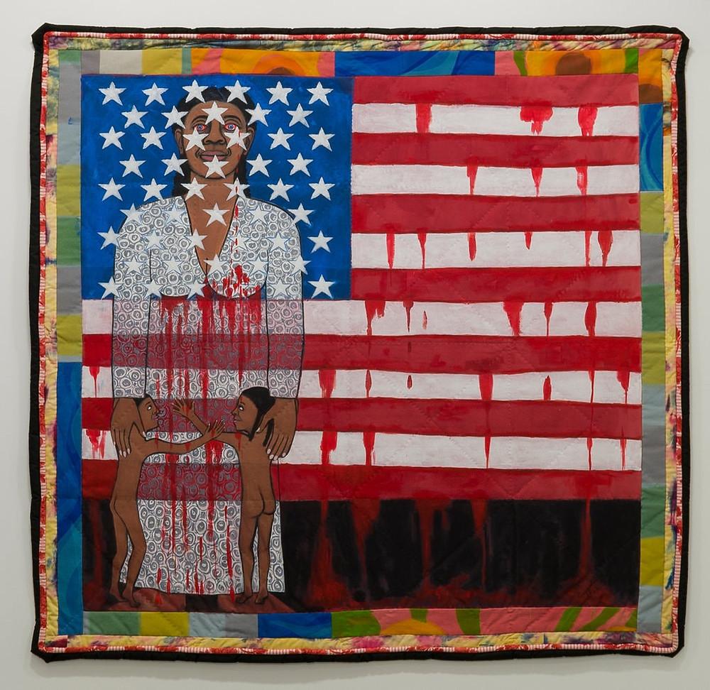 Black artist Faith Ringgold's artwork