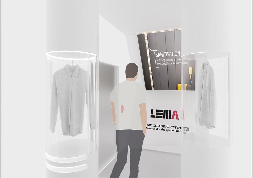 Emergent designer Simona De Fazio's project