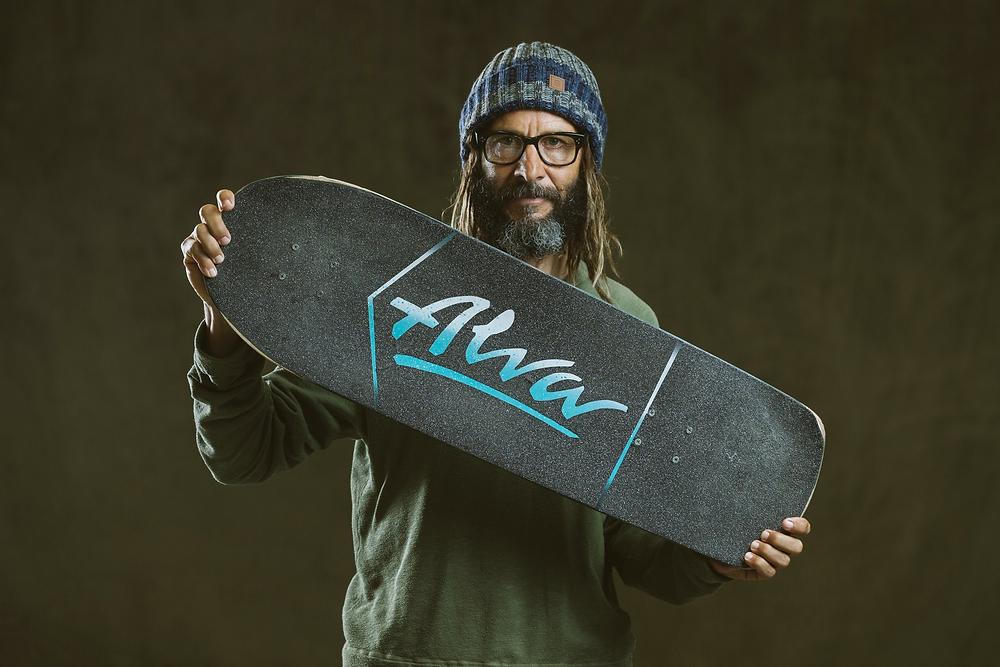 Tony Alva's skateboard