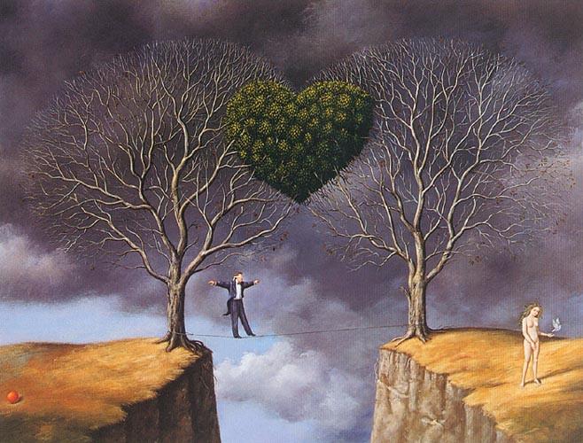 Surrealistic illustration