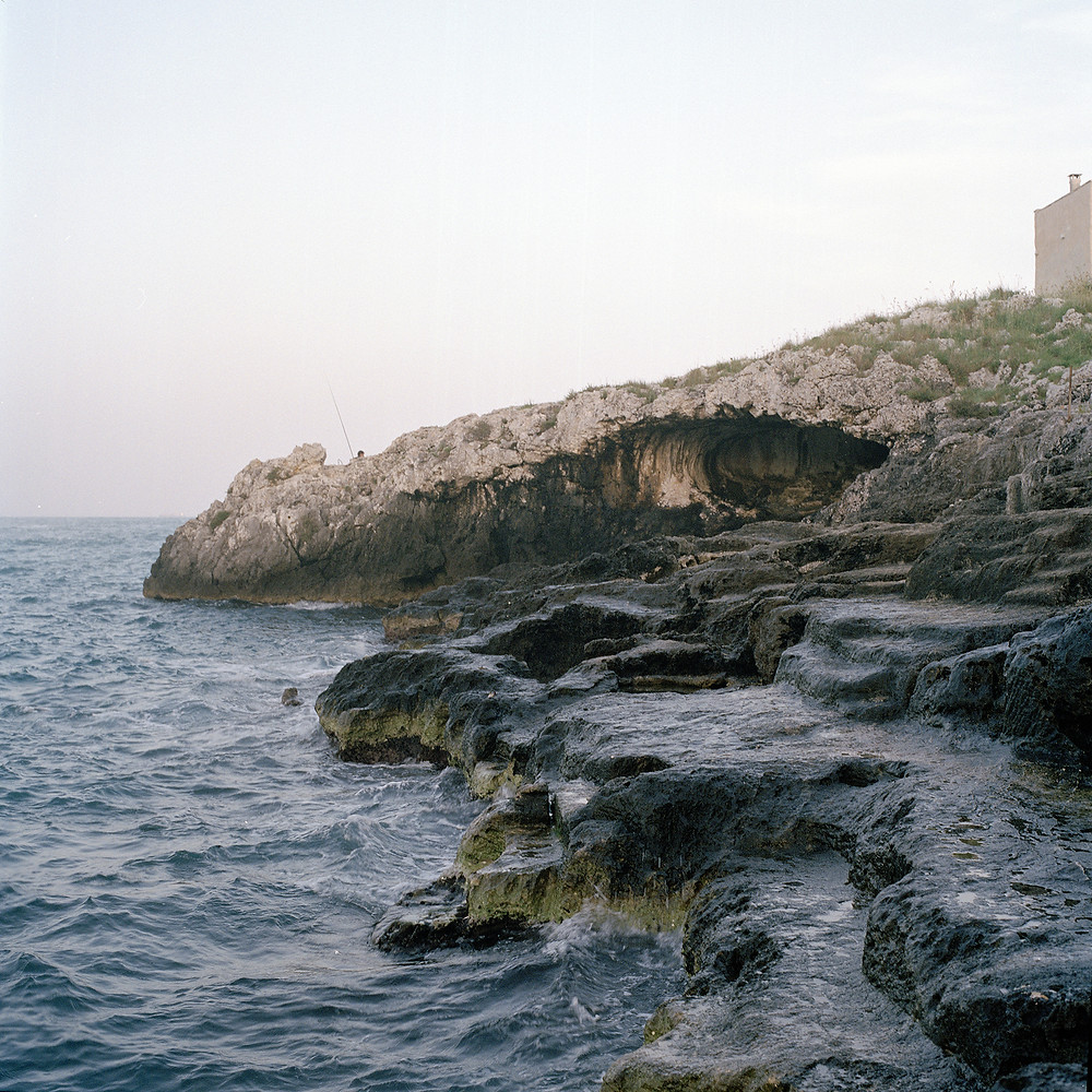 Italian photographer Cristina de Paola's shoot of a coast